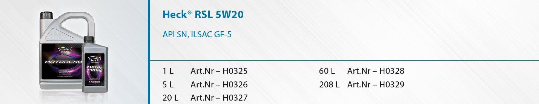 Heck-R-RSL-5W-20