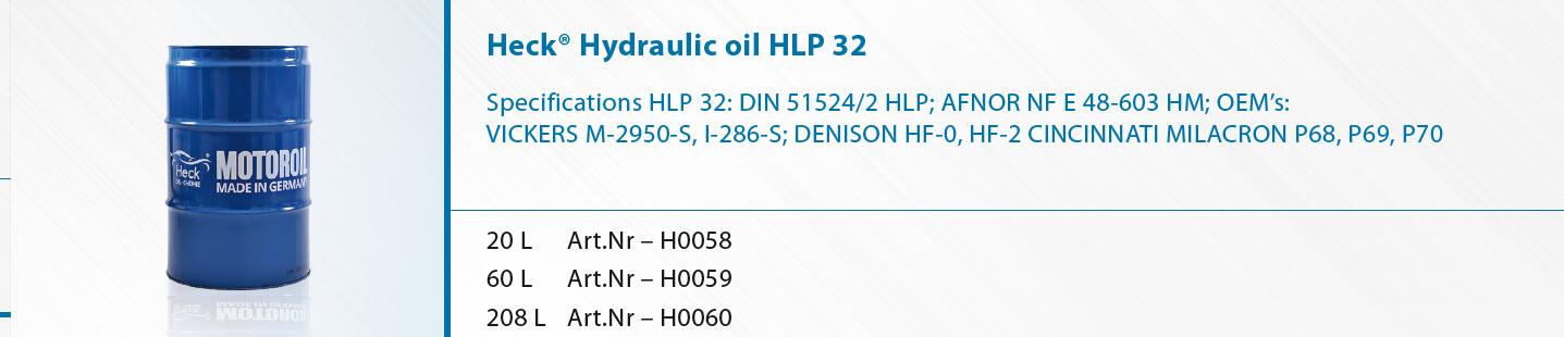 Heck-R-Hydraulik-l-HLP-32