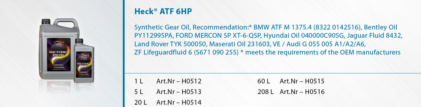Heck-R-ATF-6HP