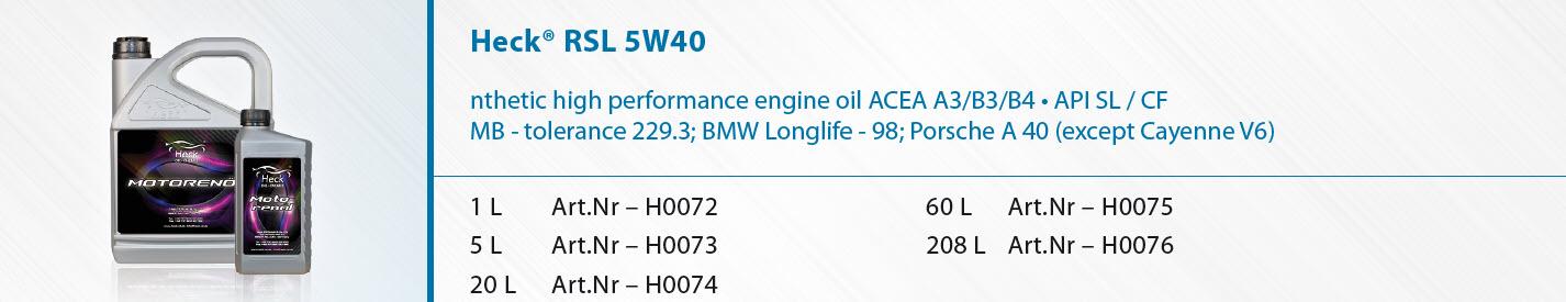 Heck-R-RSL-5W-40